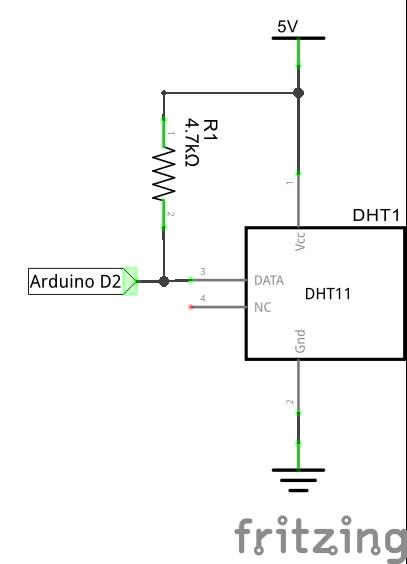 Подключение DHT11 к Ардуино Уно
