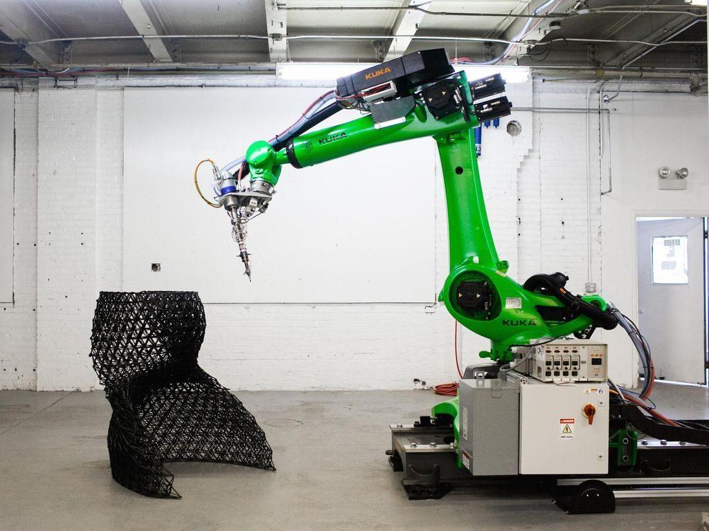 Робот-манипулятор и 3D-печать