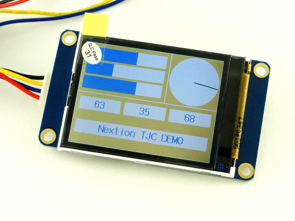 Дисплей Nextion HMI. Работа с китайской версией TJC