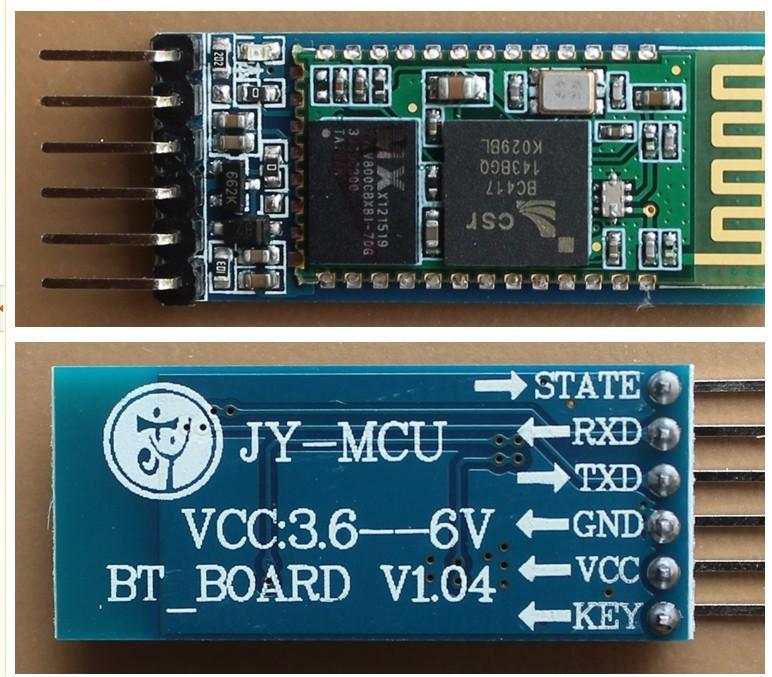 Разъемы Bluetooth HC-05
