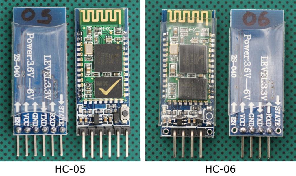 Сравнение Bluetooth HC-05 и HC-06