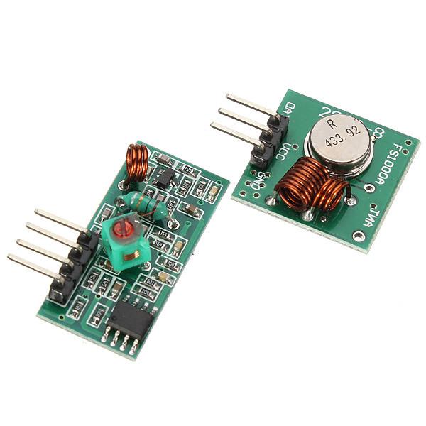 Приемник и передатчик 433МГц