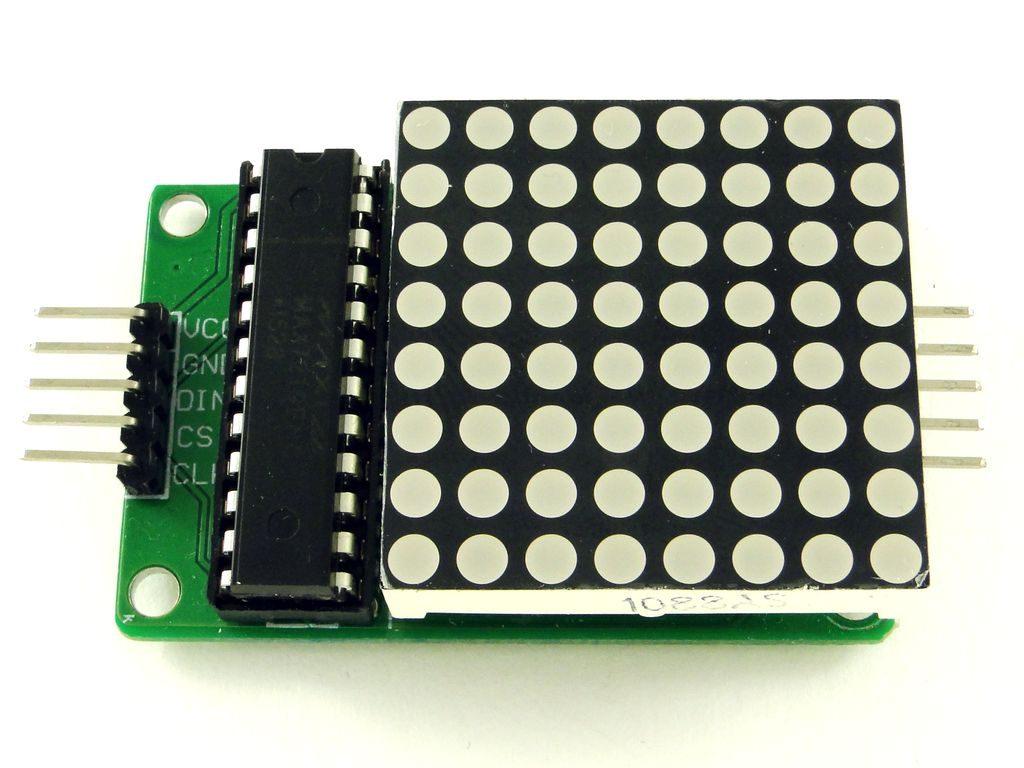 Модуль для матрицы 8x8 на основе max7912