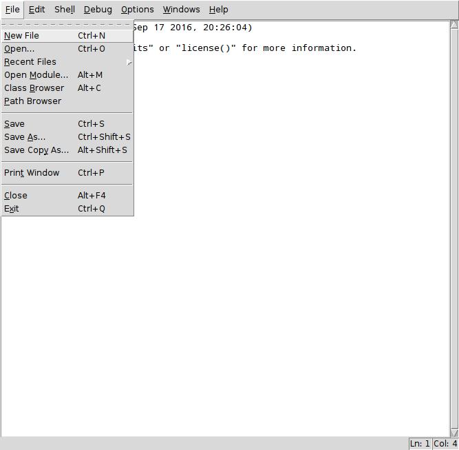 Работа с RPi.GPIO в python IDLE