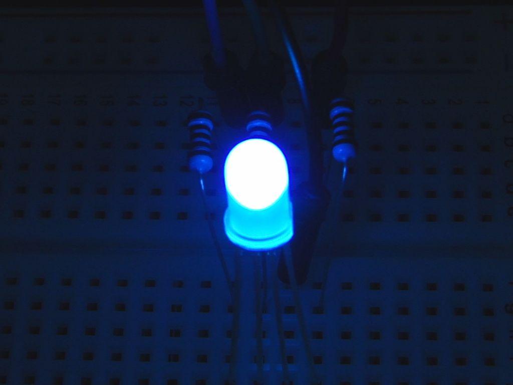 RGB-светодиод и Ардуино
