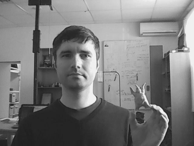 OpenCV на python. Преобразование в оттенки серого