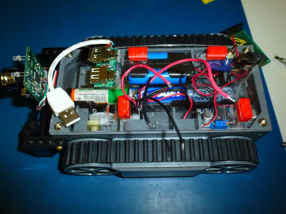 Мобильный робот на Raspberry Pi