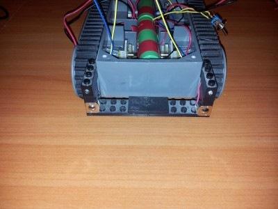Мобильный робот на Raspberry Pi, подзарядка