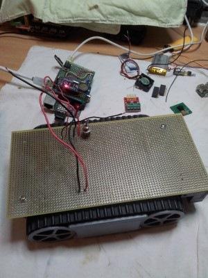 Мобильный робот на Raspberry Pi, сборка