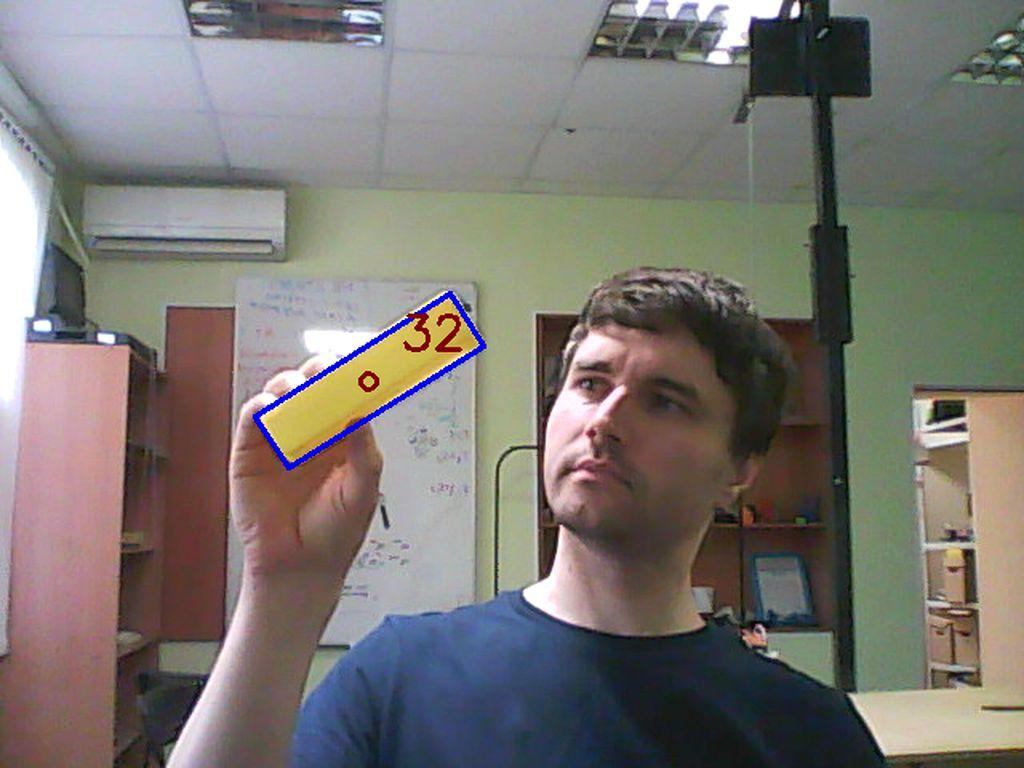 OpenCV на python, поиск прямоугольников и вычисление угла наклона