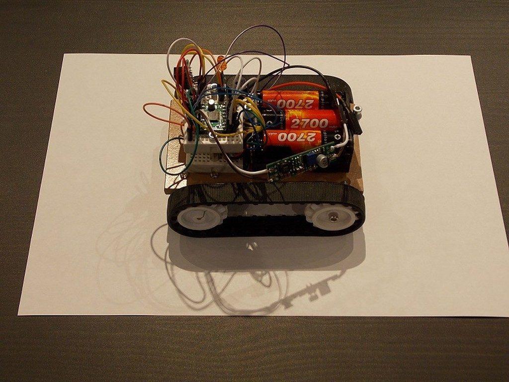Робот на MSP430