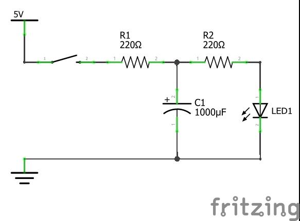 Принципиальная схема подключения конденсатора