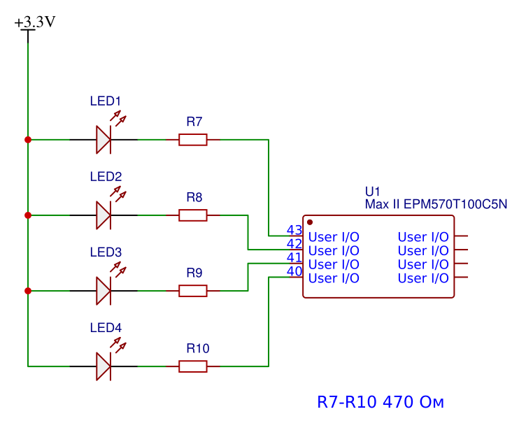 Рис 34 LEDs ctrl-cpld-ep570