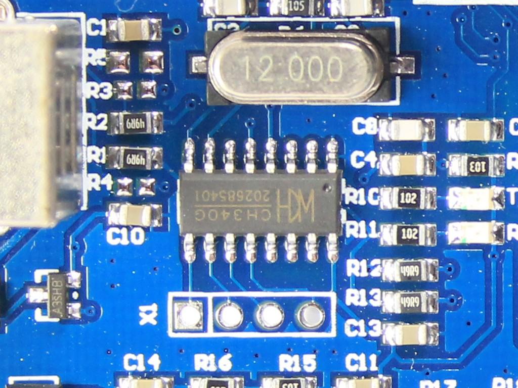 Установка драйвера CH340