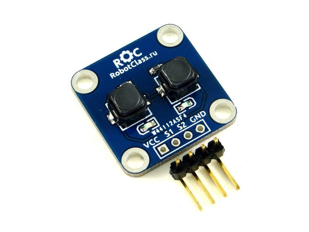 Модуль тактовых кнопок ROC