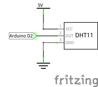 Подключение датчика DHT11 к Ардуино