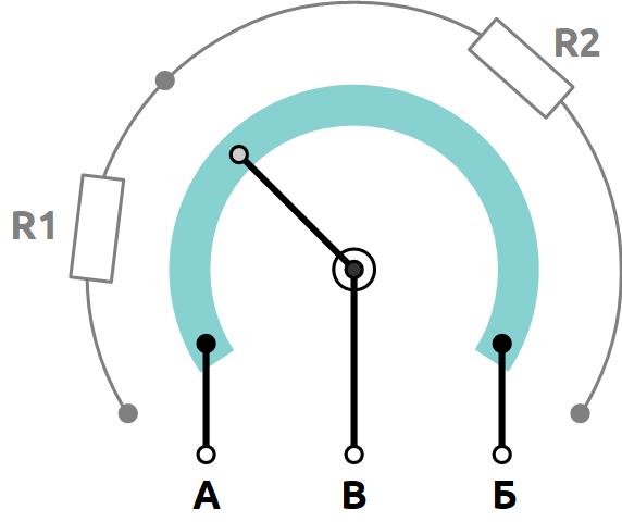 устройство потенциометра