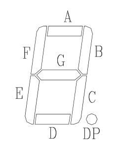 ПЛИС Altera КС Рис 3 segments Oasistek TOS-5161AMR-N